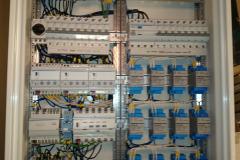KNX-BUS-central för intelligent styrning av belysning