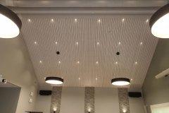 Allmänljus med spottar och plafonder
