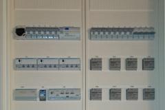 KNX-BUS-central med lock på